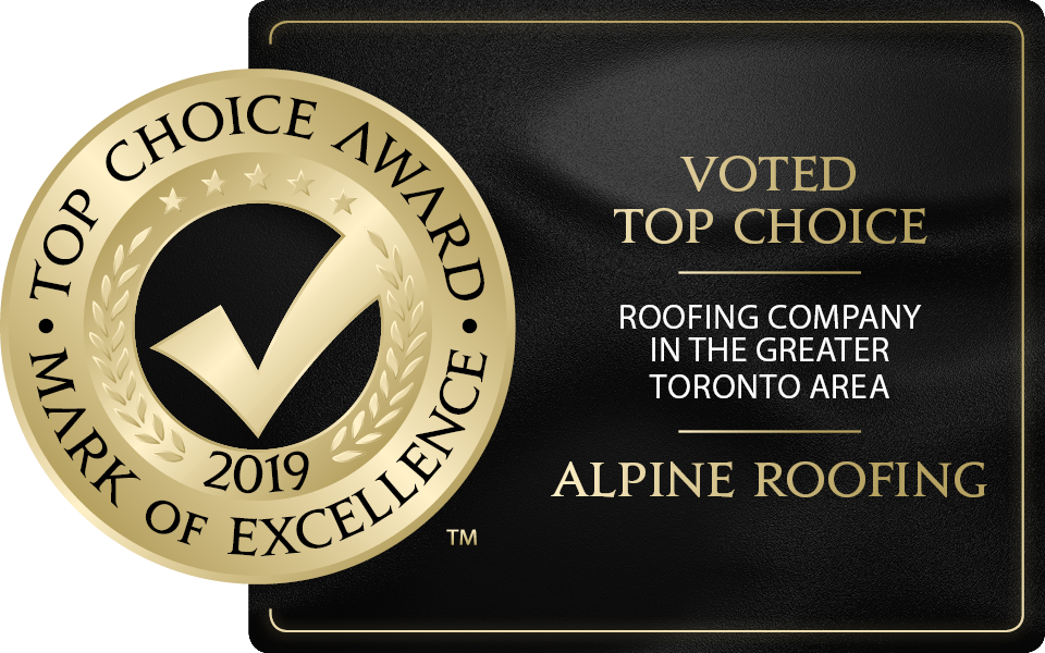 TOP CHOICE AWARD ROOFING COMPANY